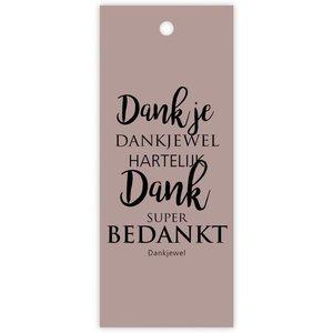 "rozen.nl Card ""Dank je"