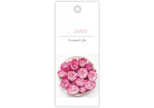 rozen.nl card  ...... jarig huwelijk