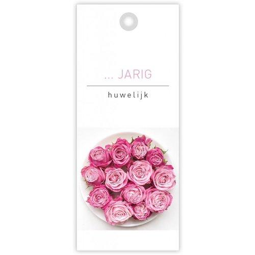 rozen.nl kaartje  ..... jarig huwelijk