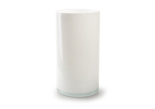rozen.nl Vase Arthur white H30 D16