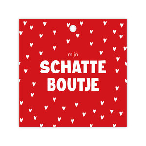 """rozen.nl Kaartje Valentijn """"mijn schatteboutje"""""""