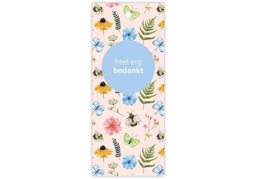 """rozen.nl Karte """"Butterfly"""" vielen dank"""