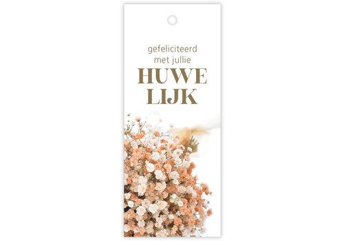 Rozen.nl kaartje Gefeliciteerd met jullie Huwelijk