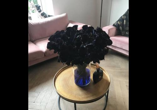 Rozen.nl Red Naomi - Black roses - 60 pieces
