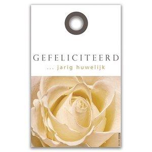 Rozen.nl kaartje Gefeliciteerd ... Huwelijk
