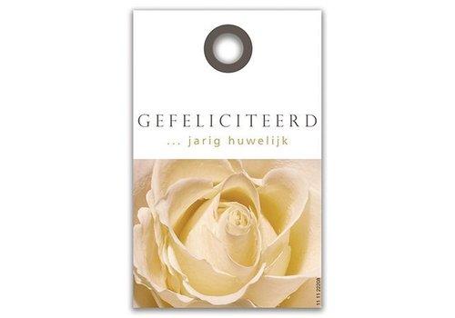 Rozen.nl Kaartje Gefeliciteerd met Huwelijk
