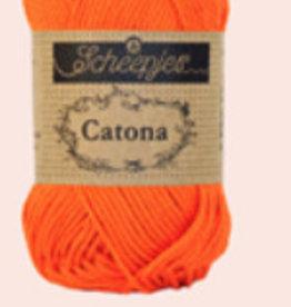 Scheepjes Catona 10 gram  - 189 Royal Orange - 10 bollen voor
