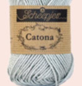 Scheepjes Catona 10 gram  - 172 Light Silver  - 10 bollen voor