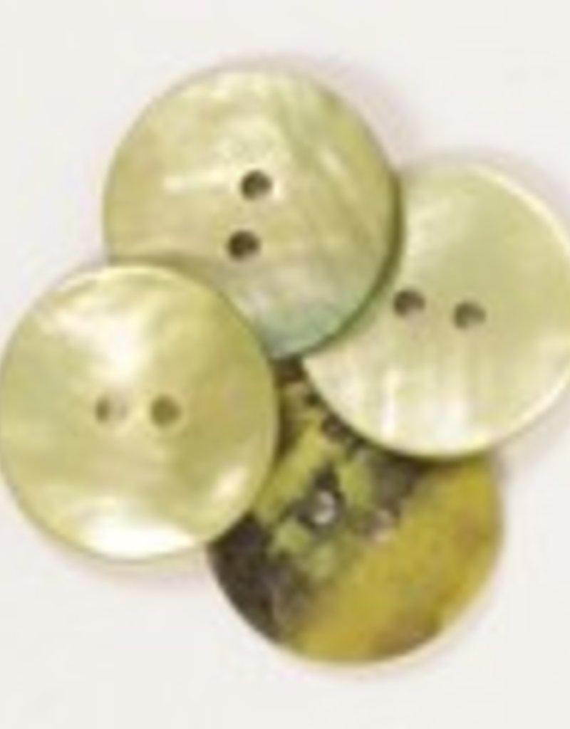 Drops Runder Knopf (grün) 20 mm / 611