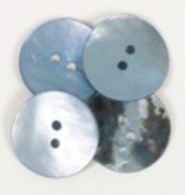 Drops Knoop Rond (blauw) 20mm / 612