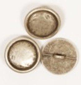 Drops Blinde knoop (zilver) 20mm / 529
