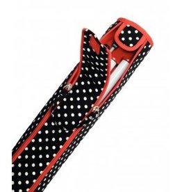 Prym knitting bag Polka black / white