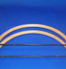 Tassenbeugel half rond beuken 20,5 cm