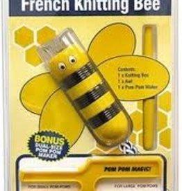 Punnik Pomponset / Französisch strickende Biene