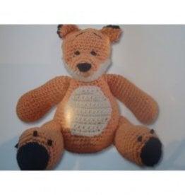 DMC Knitting kit Toby bear