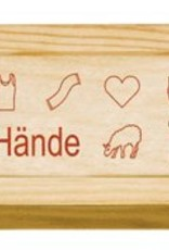 Addi Holzbox für Häkelnadeln