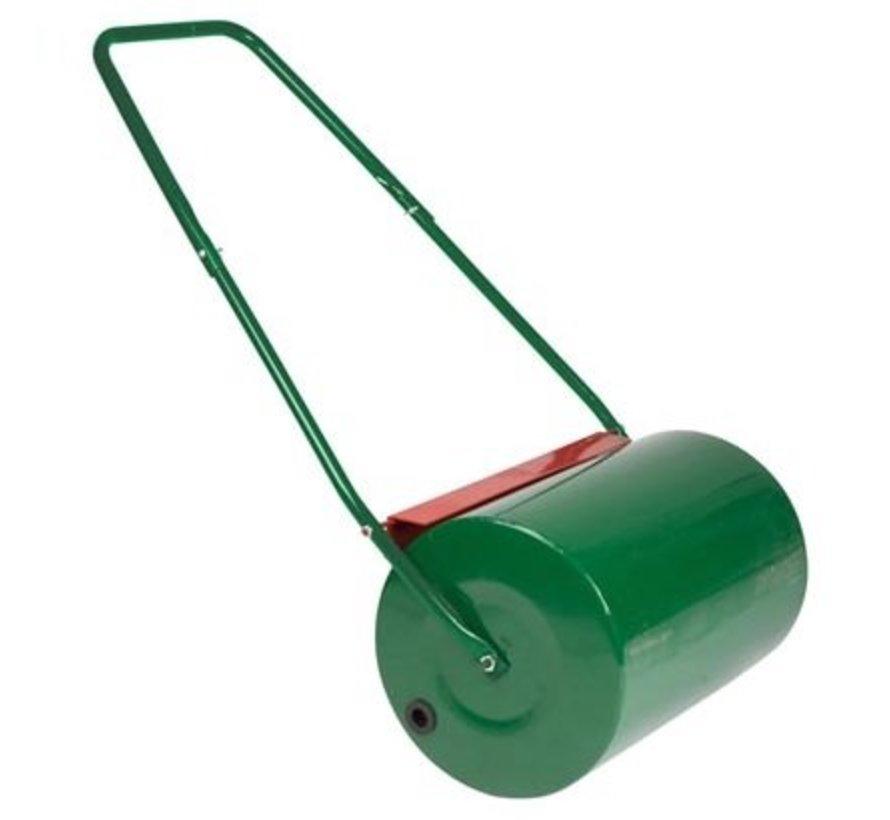Metal garden lawn roller, 50 cm working width, 50 - 75 kg