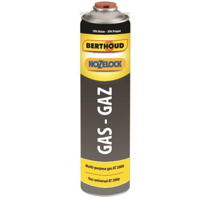 Gasfles 600 ml / 330 gram gasbus voor onkruidbrander gas cartridge