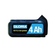 Gloria Spare battery Li-ion 18 Volt 4 Ah 728970.0000 for Multibrush