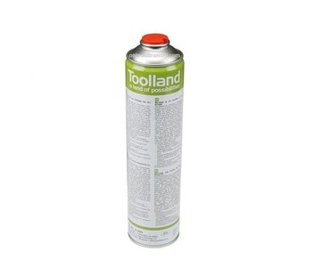 Toolland Universal gas cylinder, 600 ml for gas burners