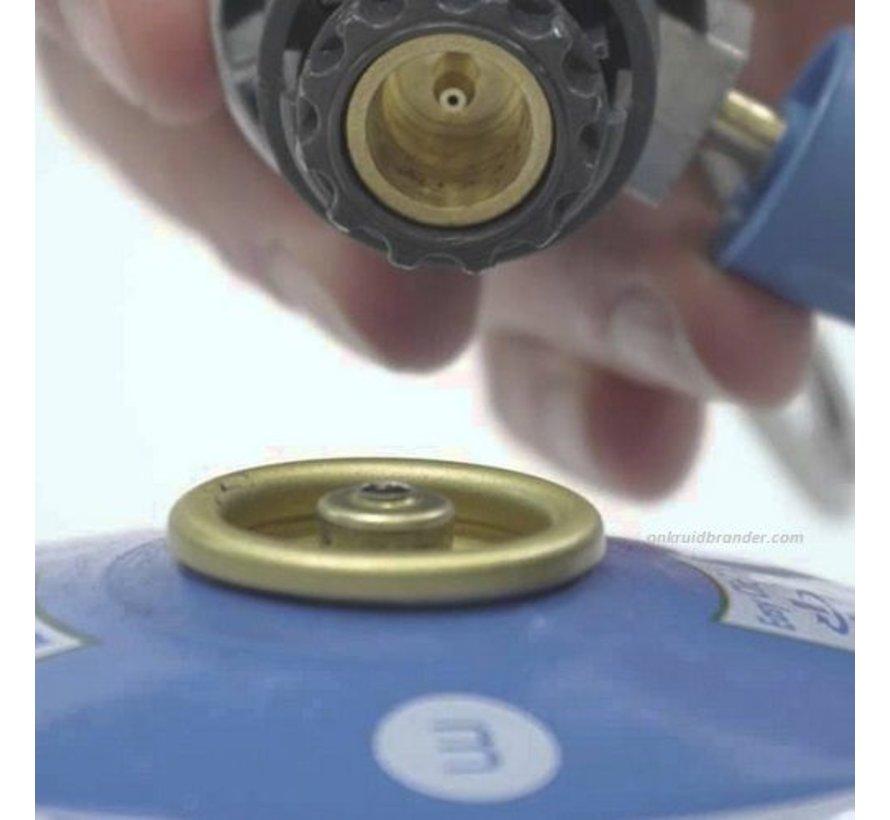Gasfles cartridge CV300 Plus voor onkruidbrander en kookbrander
