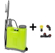Kinzo Unkrautspritze - Rückensprühgerät zur Unkrautvernichtung  18 Liter Hochdruckspritze
