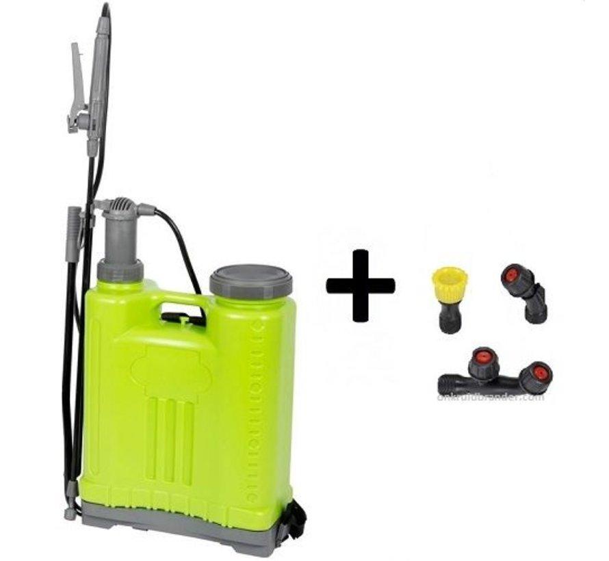 Backpack pressure / weed sprayer, 18 litres
