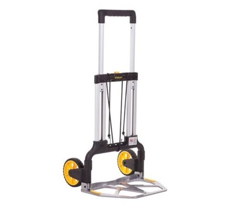 Foldable transport trolley, 125 kg load capacity