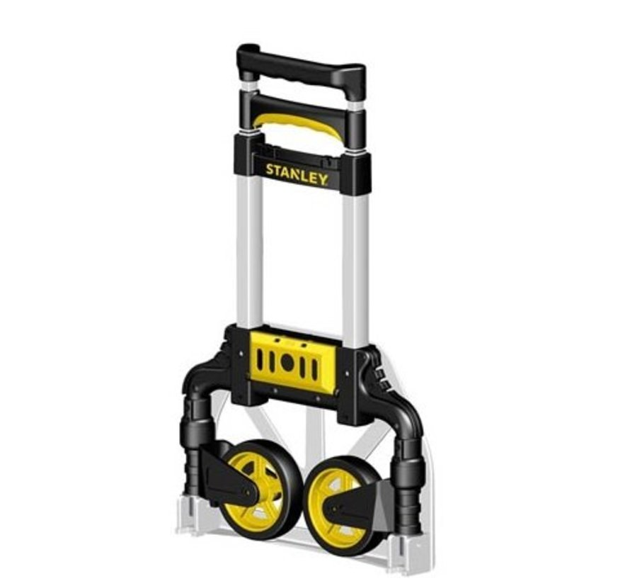 Foldable transport trolley, 60 kg load capacity
