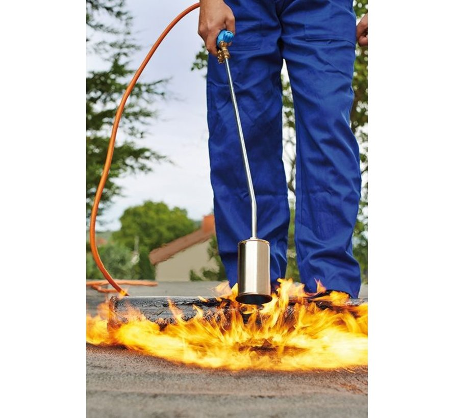 PA079 Professional weed burner with 5 meter gas hose