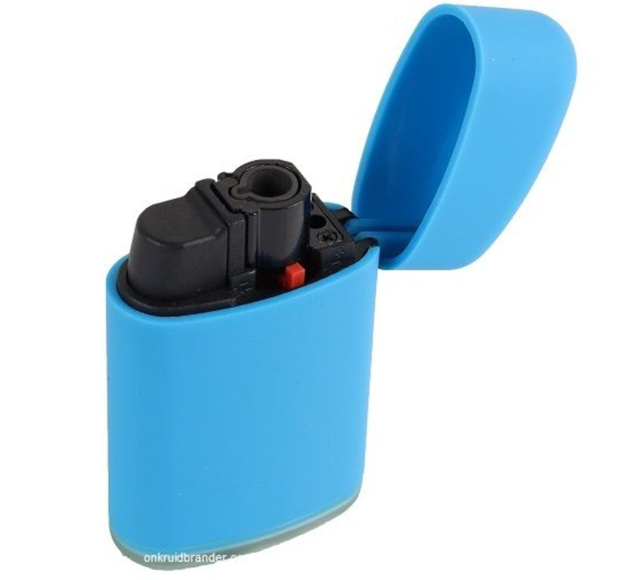 storm lighter with soft grip and is refillable GF486