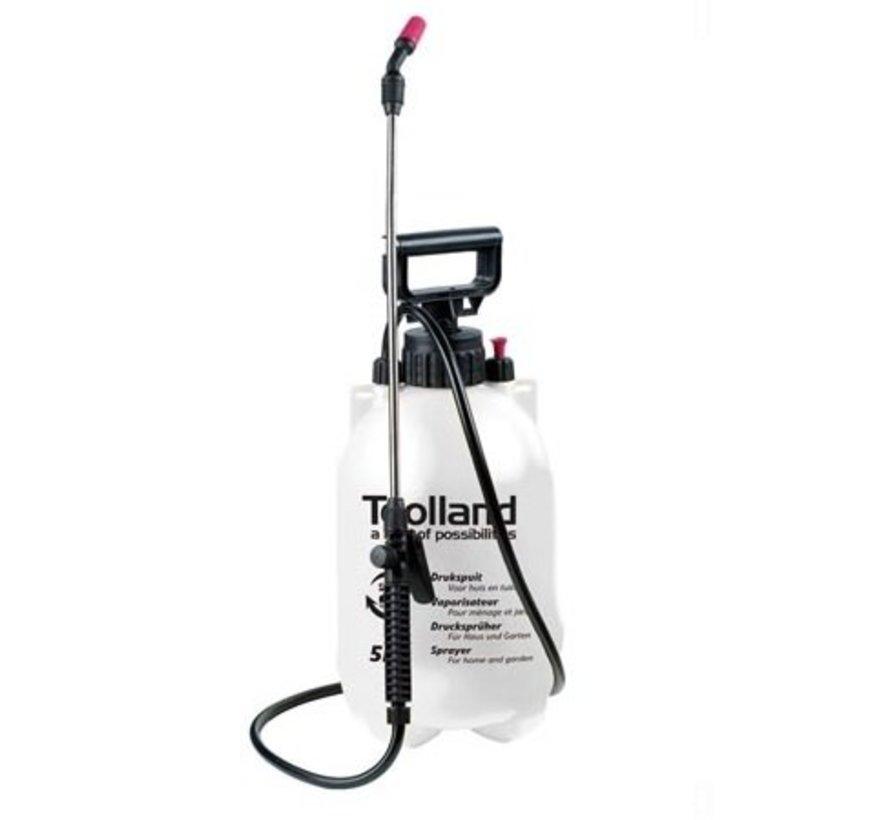 Pressure sprayer 5 liter pressure sprayer weed sprayer