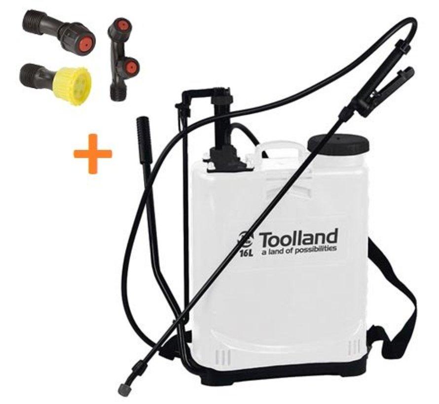 recoiled pressure sprayer 16 liter sprayer weed sprayer
