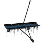 Turfmaster Drawn deminerator - lawn aerator and scarifier rake