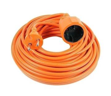 Câble rallonge électrique orange 10 m 2500 Watt