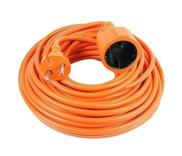 Vekto extension cable 10 meters of desire cable orange 2500 watt