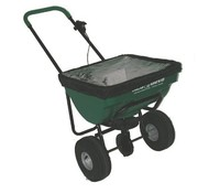 Turfmaster spreader 45 kg. for salt, fertilizer and seeds