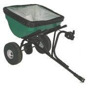 Turfmaster Drawn gritter 45 kg. Fertilizer spreader and salt spreader