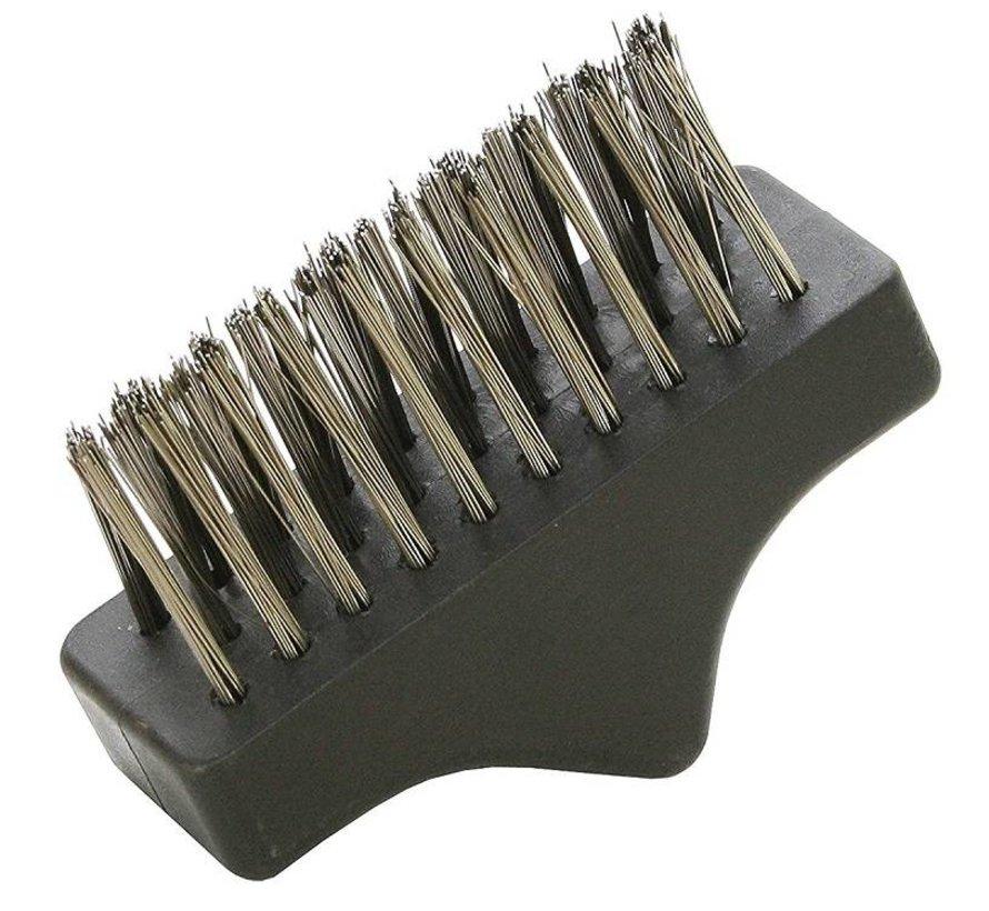 Set de brosse à herbes télescopique Brosse à joints avec 2 brosses