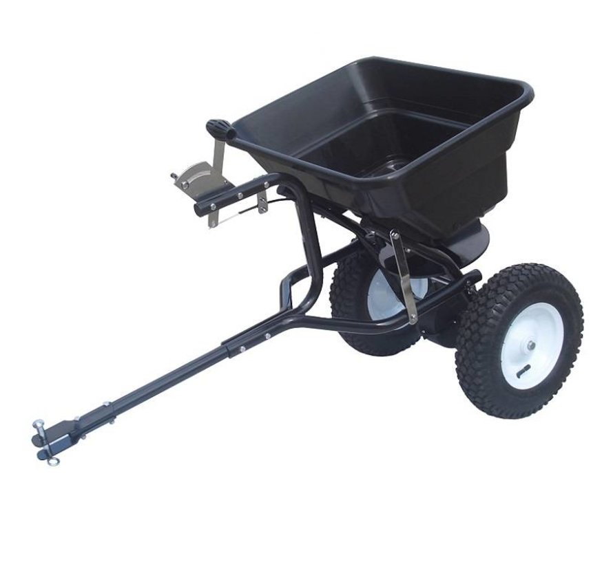 trailed spreader for fertilizer and road salt 36 kg.