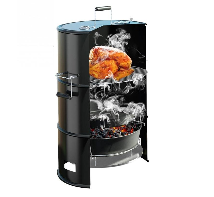 4Grill barbecue smoker fumoir baril