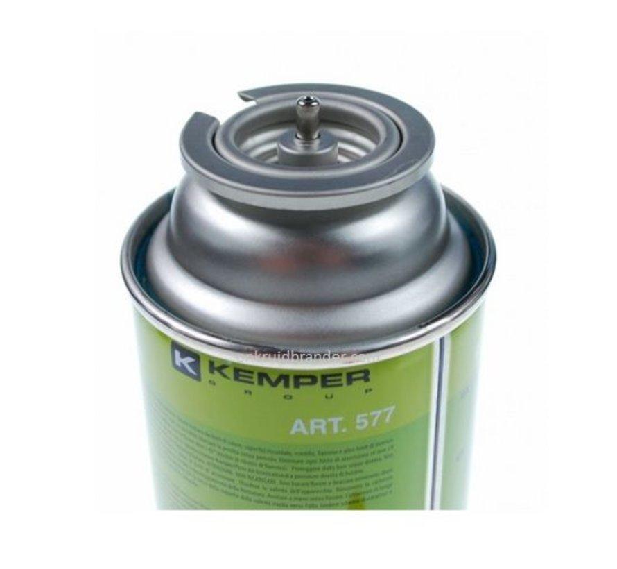 Gasfles 227 gram butaan gaspatroon cartridge model 577