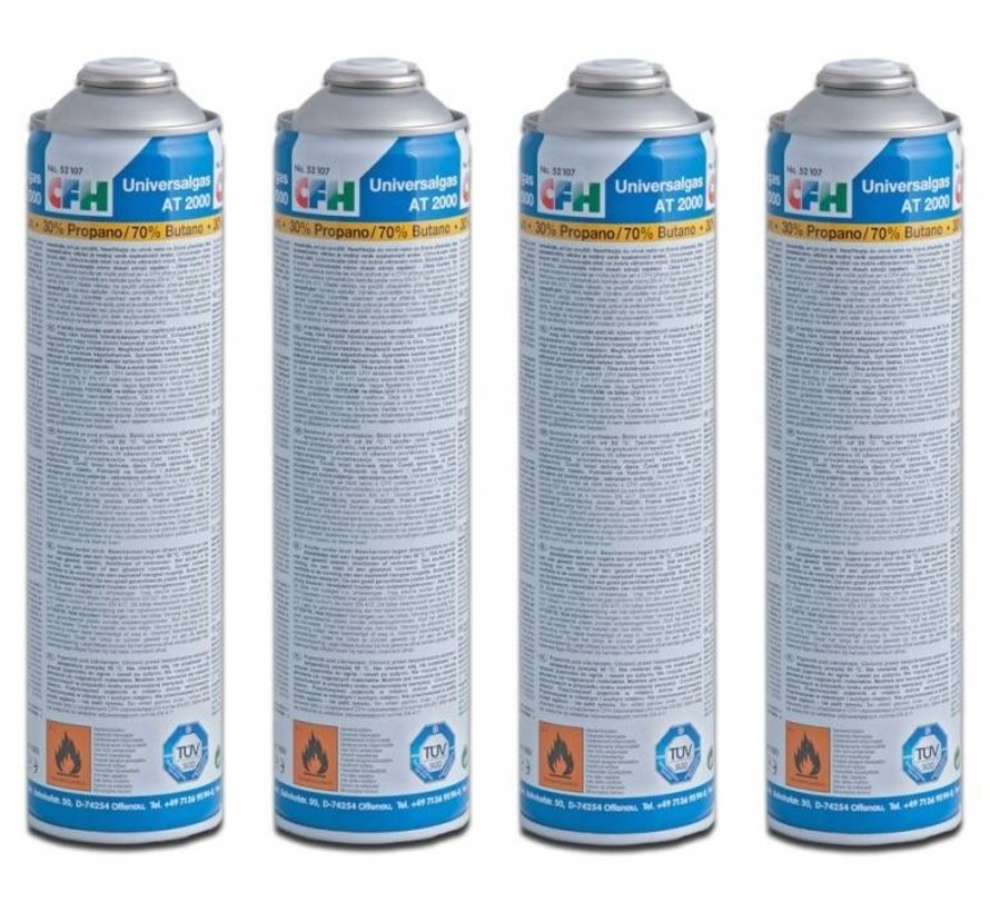 Universal gas cylinder for weed burner / gas burner - COMBIDEAL
