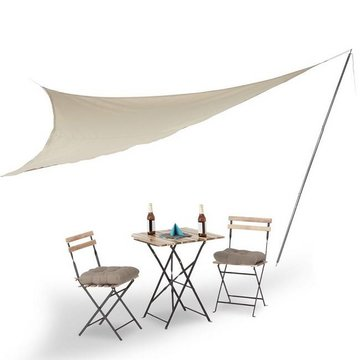 Perel Garden shade sail mast, 2.5 meters with guy rope and ground pin