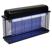 Perel Electrique insecticide 2 x 15 watts lampe volante 100 m2 IPX4