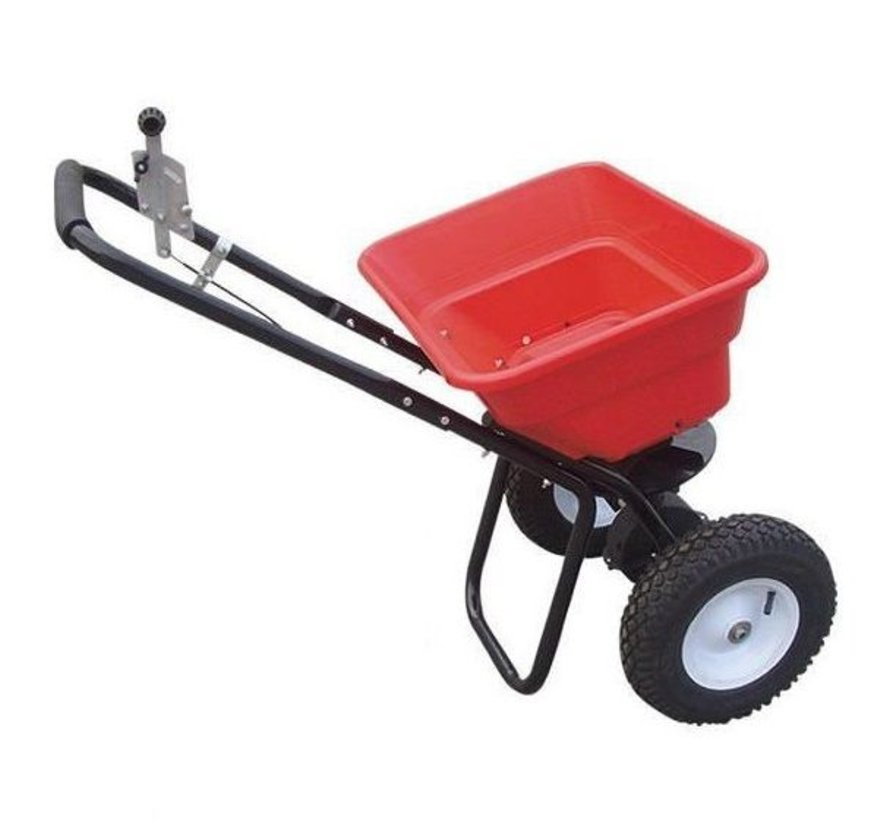 push spreader 36 kg. Fertilizer spreader - salt spreader