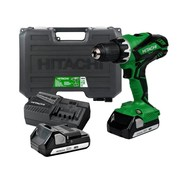 Hitachi DS18DJL (LC / WC) Cordless drills, 18 Volt Li-Ion with case