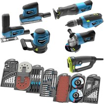Complete BluCave AC tool set with accessories