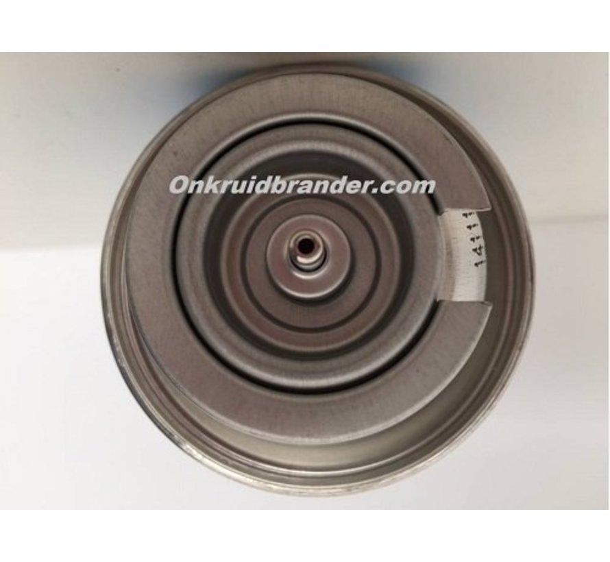 Gasflasche | Gaskartusche 227g für Unkrautbrenner und Gasbrenner