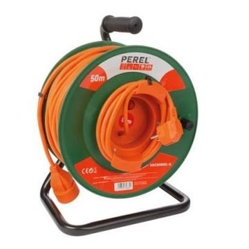 Perel Cable reel 50 m / extension cord
